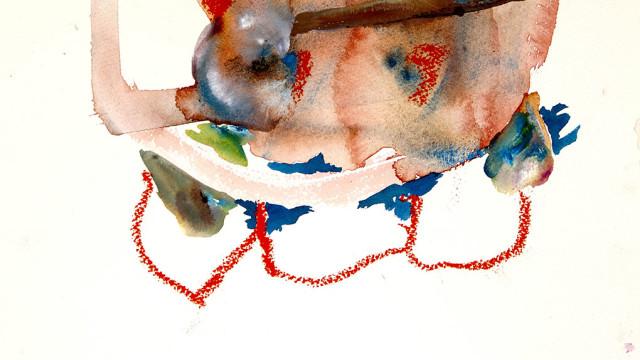 Akvarell. 31x23cm