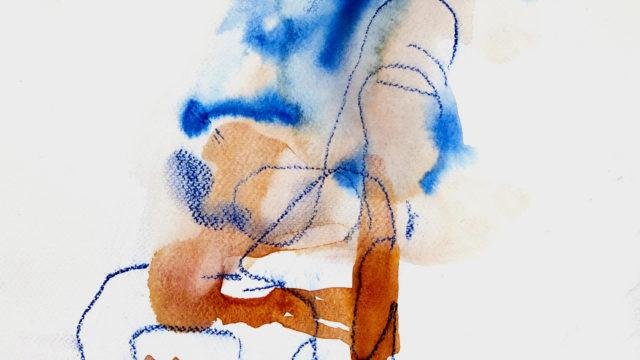 Akvarell 32x31cm