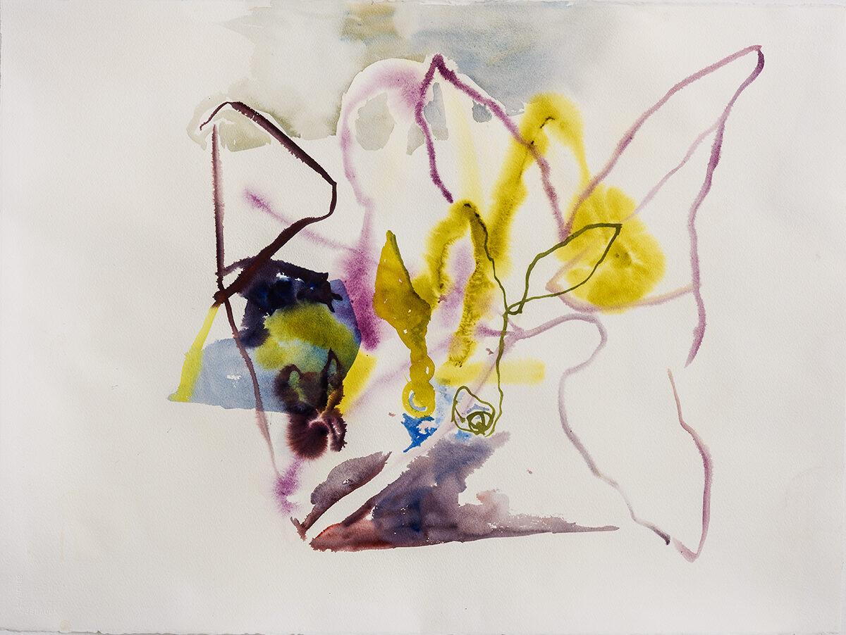 Akvarell 83x64 cm