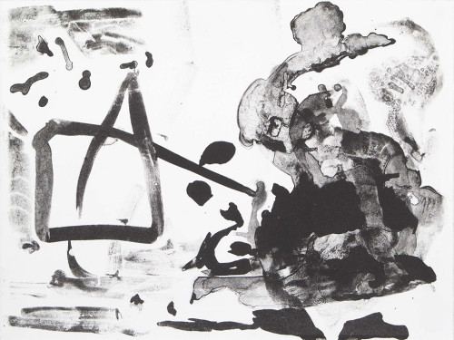 Litografi. 50x35cm